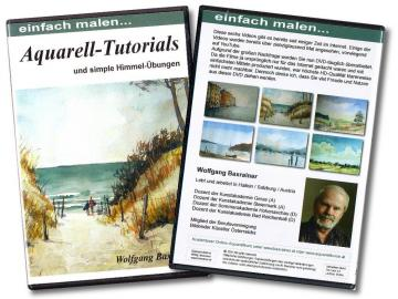 DVD Aquarell-Tutorials
