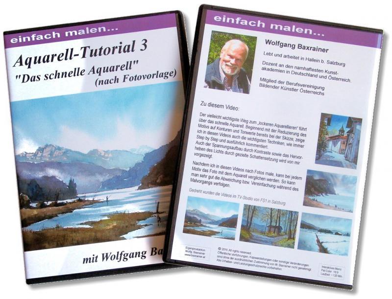 Tutorial 3 - Das schnelle Aquarell