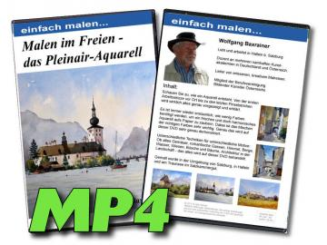 MP4-Video Malen im Freien - das Pleinair Aquarell
