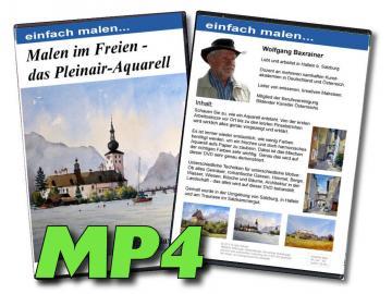 MP4-Video Malen im Freien - das Pleinair Aquarell