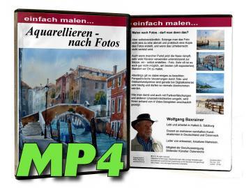 MP4-Video - Aquarellieren nach Fotos