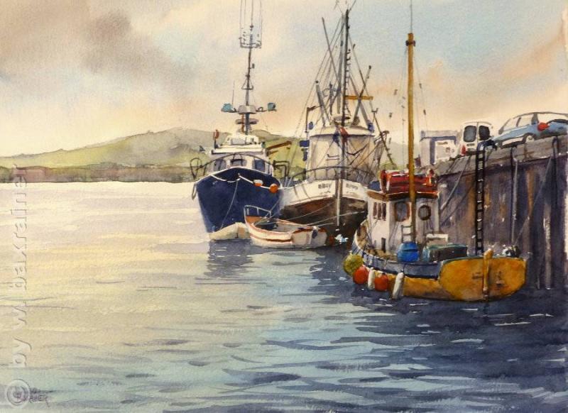 Hafen in Dingle, Irland